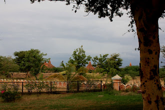 Photo: Year 2 Day 57 -  Hotel Grounds and View of Temples #2