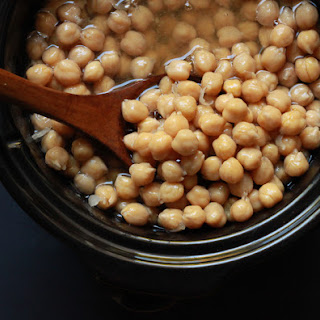 Slow Cooker Chickpeas Recipe