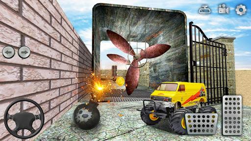 Code Triche jouet un camion Labyrinthe conduite 2020: camion mod apk screenshots 6