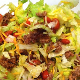 Make Ahead Taco Salad.