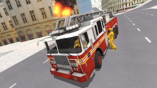 Fire Truck Driving Simulator 1.15 screenshots 13