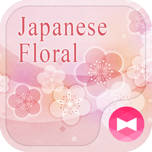 pink Theme Japanese Floral Icon