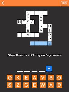 Kreuzworträtsel Deutsch kostenlos - náhled