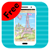 Cute Paris Theme for BBM-Free