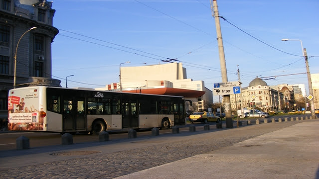 Transport in Bucharest by bus, Romania