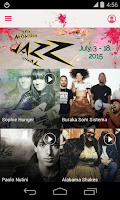 Screenshot of Montreux Jazz Festival 2015