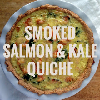 Smoked Salmon and Kale Quiche