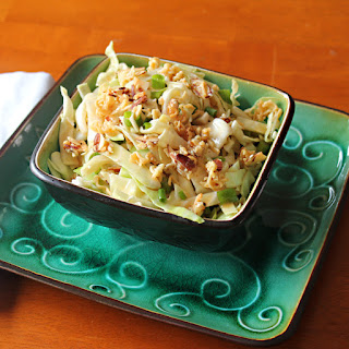 Cabbage Salad With Ramen Noodles And Almonds Recipes