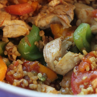 Easy Lean & Green Chicken Stir Fry.