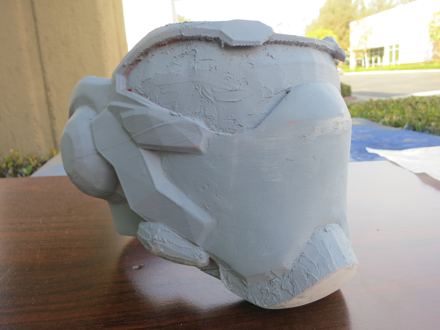 Sanded, primed and filled all the imperfections and striations