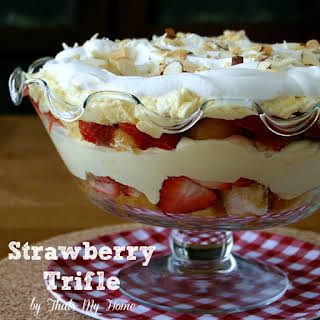Strawberry Trifle.