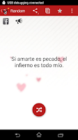 Screenshot of Spanish Love Quotes