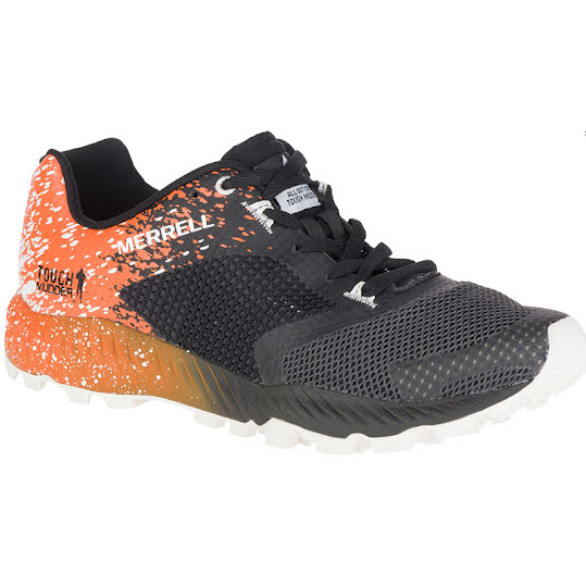 Merrell All Out Crush Tough Mudder 2 Men TM Orange Stl: 43.5