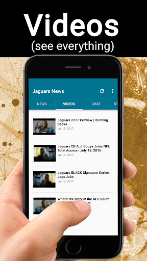 Football News from Jacksonville Jaguars 1.1.5 screenshots 2