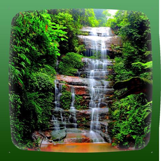 瀑布動態壁紙 個人化 App LOGO-APP試玩