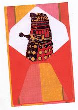 Photo: Wenchkin's Mail Art 366 - Day 172, card 172b