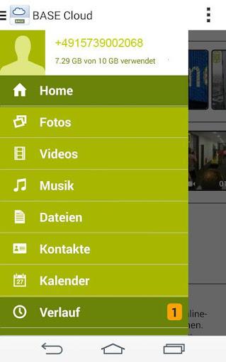 BASE Cloud screenshot 1