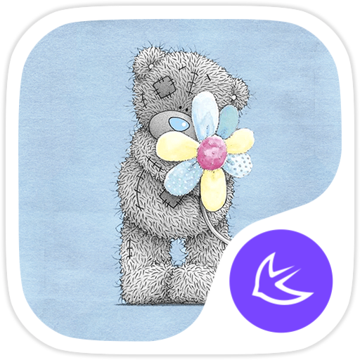 Cute  Bear-APUS Launcher theme