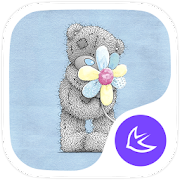 Lovely teddy bear theme  Icon