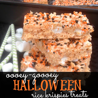 Ooey-Gooey Halloween Rice Krispies Treats