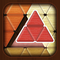 Wood Block Puzzle : Triangle Tangram icon