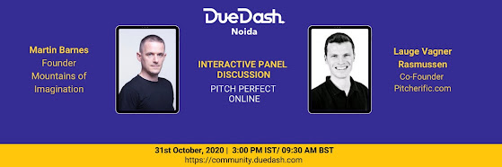 DueDash Noida Event- Pitch Perfect Online
