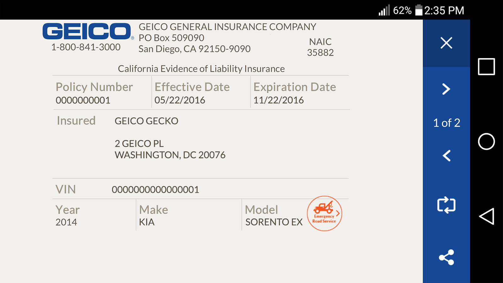 GEICO Mobile - Android Apps on - 242.1KB