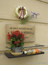Photo: Shrine to Those Who Died on May 5, 1945, Three Days Prior to WWII Liberation