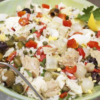 Insalata di Riso (Rice Salad).