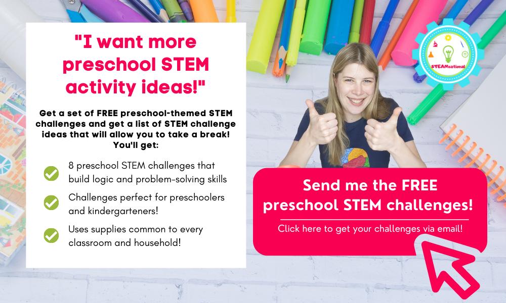 preschool stem challenges