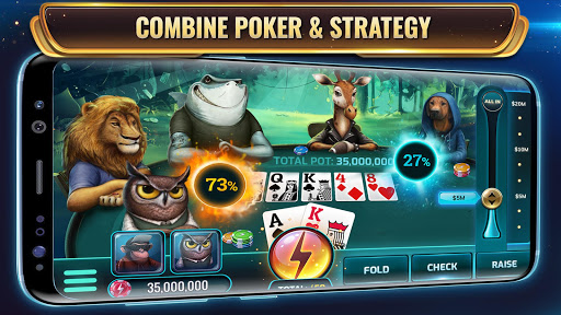 Wild Poker : Poker Texas Holdem avec Power-Ups  captures d'écran 1