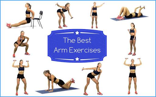 ベストアームフィットネス 上腕二頭筋と上腕三頭筋運動健康