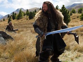 Photo: Thorin Oakenshield and his nephew and immediate heir, Fili.