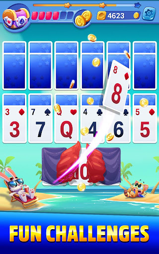 Solitaire Showtime: Tri Peaks Solitaire Free & Fun apkmr screenshots 4