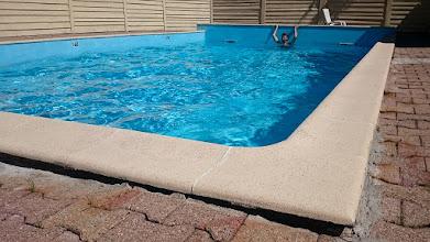 Photo: De camping had ook een zwembad