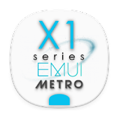 X1S Metro EMUI 5 Theme (White) Android APK Download Free By Absoft Studio