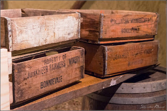 Photo: Our rustic wooden crates as decor
