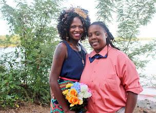 Photo: Lesbian Wedding, Same Sex Elopement Lake Hartwell Anderson, SC  http://WeddingWoman.net