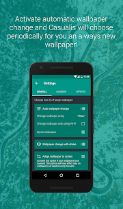 Casualis:Auto wallpaper change App Download for Android 3