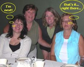 Photo: Cynthia Gillis, Cathy Godin, Christine Kemp, Daisy