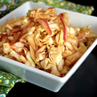 Quick Spicy Pickled Cabbage