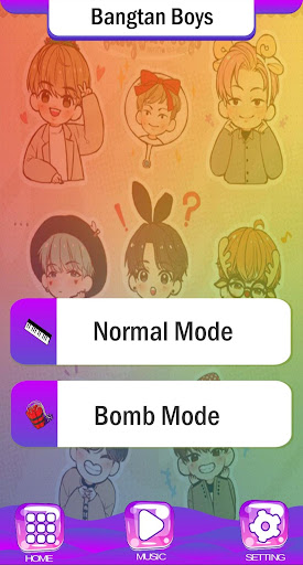 BTS Chibi Piano Tiles 2.2 screenshots 3