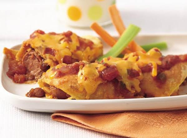 Chili Dog Wraps Recipe