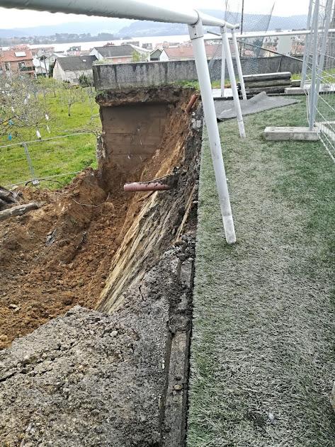 ADR Numancia de Ares. Obras de reparación del muro de Prados Vellos