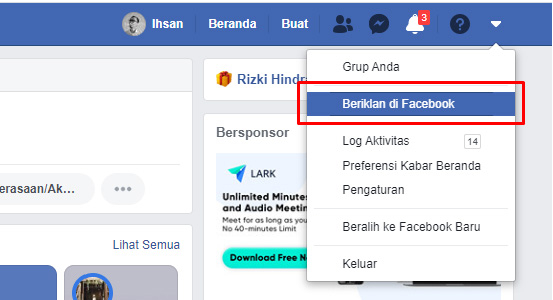 facebook ads tutorial - buat halaman facebook