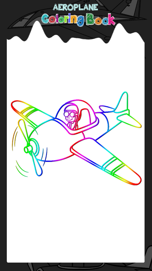 avión de libro para colorear - Aplicaciones de Android en Google Play
