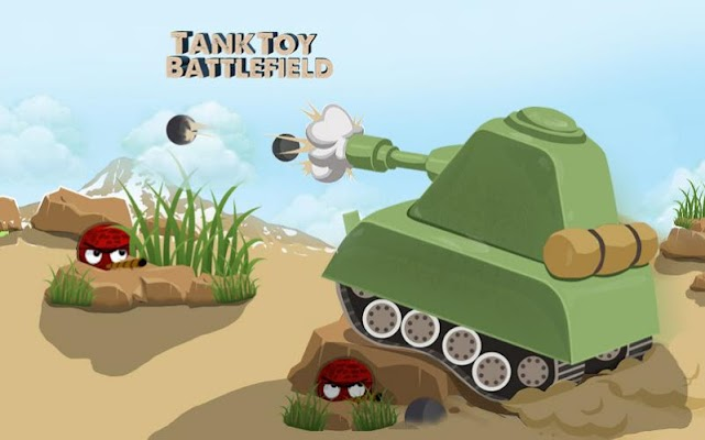 Tank Toy Battlefield - screenshot