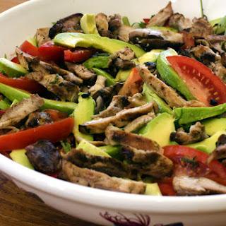 Jerk Chicken and Avocado Salad