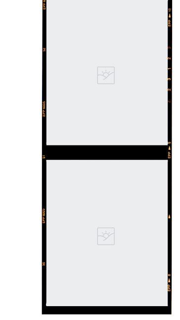 2 Tier Blanks Thick Border - Facebook Story Template
