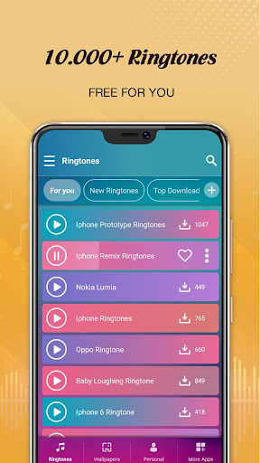 Free Ringtones For Android Phone 1.0.3 screenshots 1